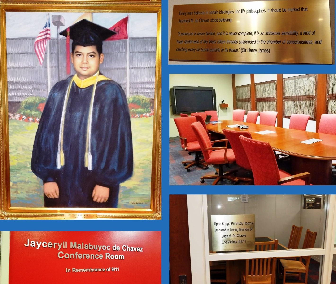 Jaceryll Malabuyoc de Chavez - Tributes at Carr Library