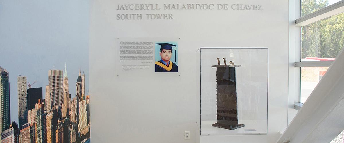 Jaceryll Malabuyoc de Chavez South Tower at Rutgers Business School