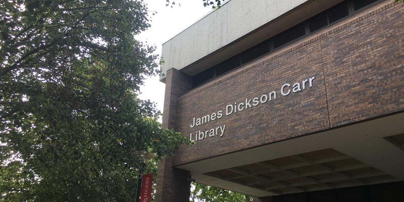James Dickson Carr Library at Rutgers University-New Brunswick