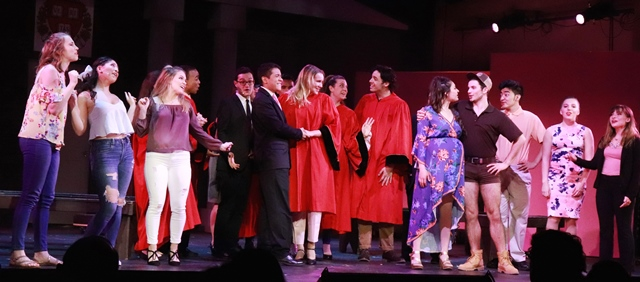 Legally Blonde cast, Livingston Theatre Company, 2018