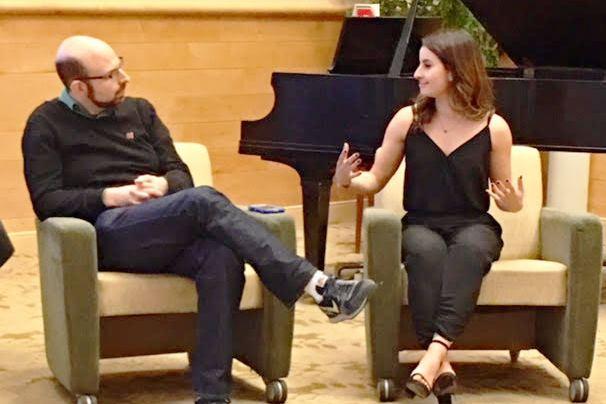 Jason Goldstein and Julia Mendes